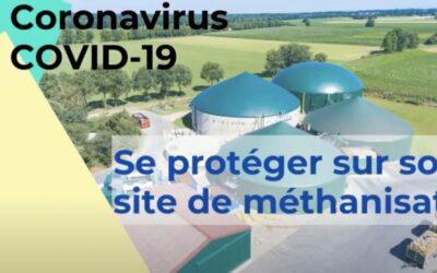 COVID-19 : se protéger sur son site de méthanisation