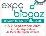 Expo Biogaz les 1 & 2 septembre
